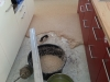 Steinteppich Verlegung im Innenbreich - Bsp. Küche 2
