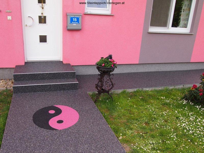 Lust auf einen kreativen Bodenbelag?  Steinteppich