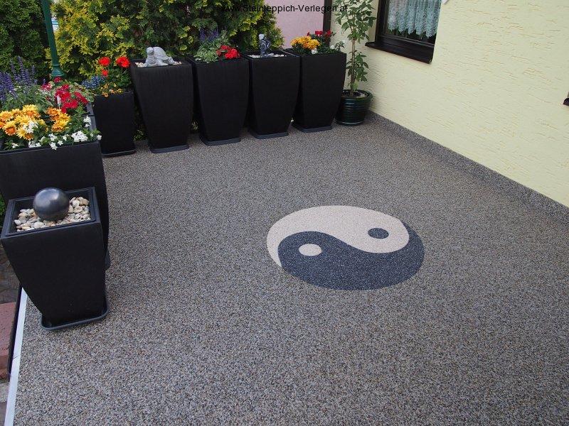 Lust Auf Einen Kreativen Bodenbelag Steinteppich Verlegen At