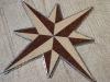 Stern Symbol Stein Teppich Schablone