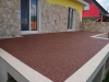 Steinteppich Terrasse