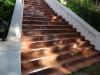 Steinteppich Treppe vorher