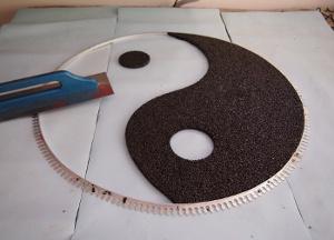 steinteppich muster schablone