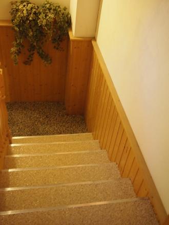 Steinteppich Treppe für den Innenbereich
